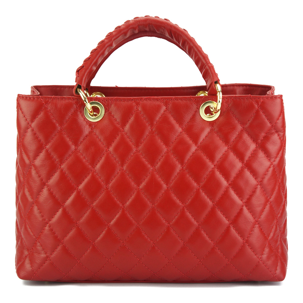 c04b0bb633 Δερμάτινη Τσάντα Ώμου Severa Firenze Leather 7006 Κόκκινο
