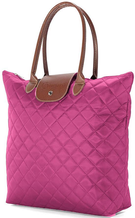 Τσάντα Shopping Καπιτονέ Benzi BZ4730 Ροζ γυναίκα   shopping bags