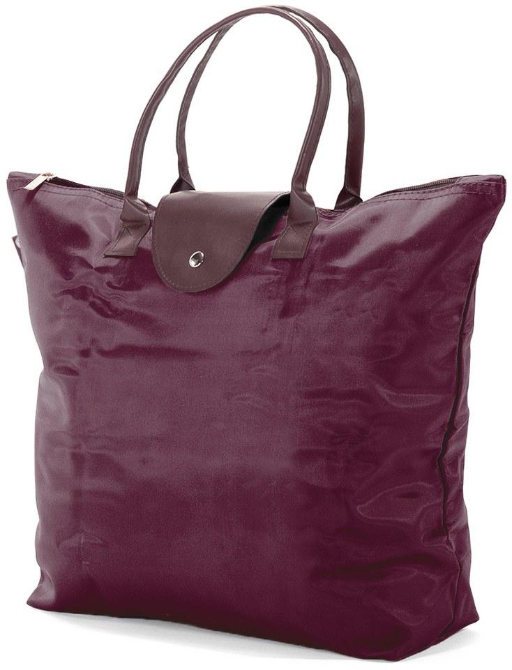 Τσάντα Shopping Αναδιπλούμενη Benzi BZ5349 Μπορντό γυναίκα   shopping bags
