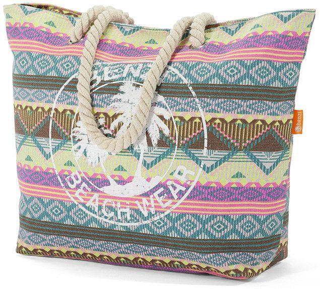 Τσάντα Θαλάσσης Benzi BZ5251-Col1 Πολυχρωμο γυναίκα   τσάντες παραλίας