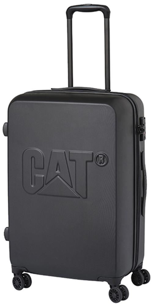 Βαλίτσα Καμπίνας με 4 Ρόδες Caterpillar 83684/50 Μαύρη