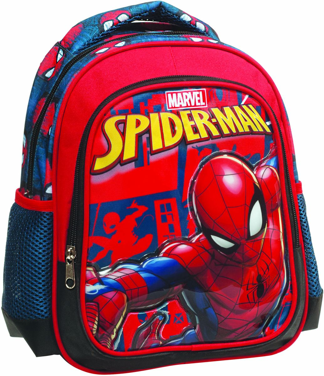 fc3cd74f70 Τσάντα Νηπιαγωγείου Spiderman Black GIM 337-70054