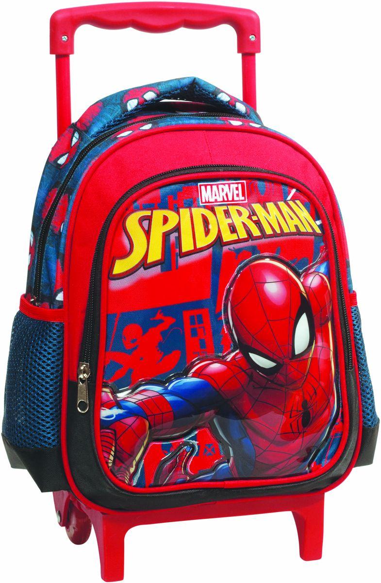 ce9c8c454de Τσάντα Νηπιαγωγείου Trolley Spiderman Black GIM 337-70072