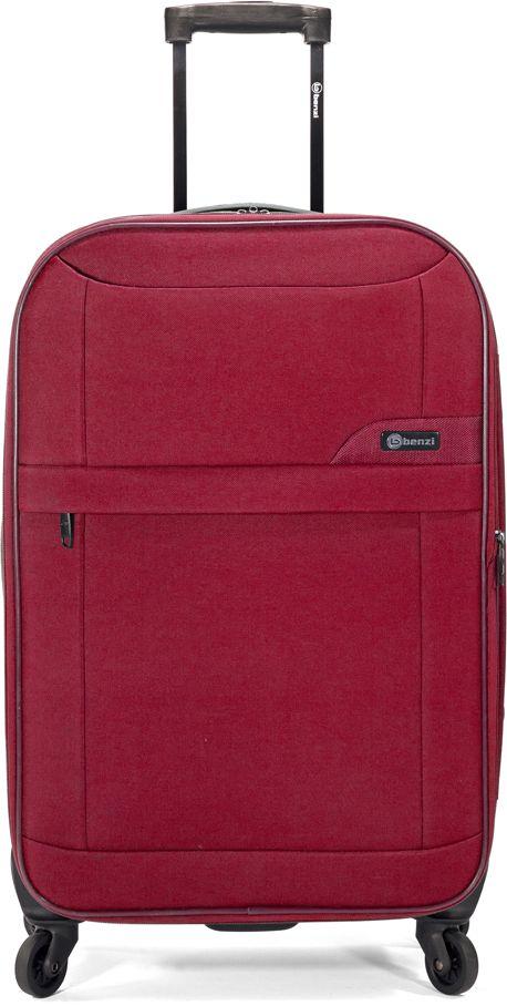Βαλίτσα Καμπίνας με 4 Ροδες & Επέκταση Benzi BZ5380 Κόκκινο