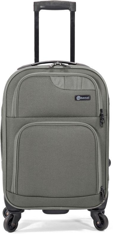 Βαλίτσα Καμπίνας με 4 Ρόδες & Επέκταση Benzi BZ5381 Γκρι