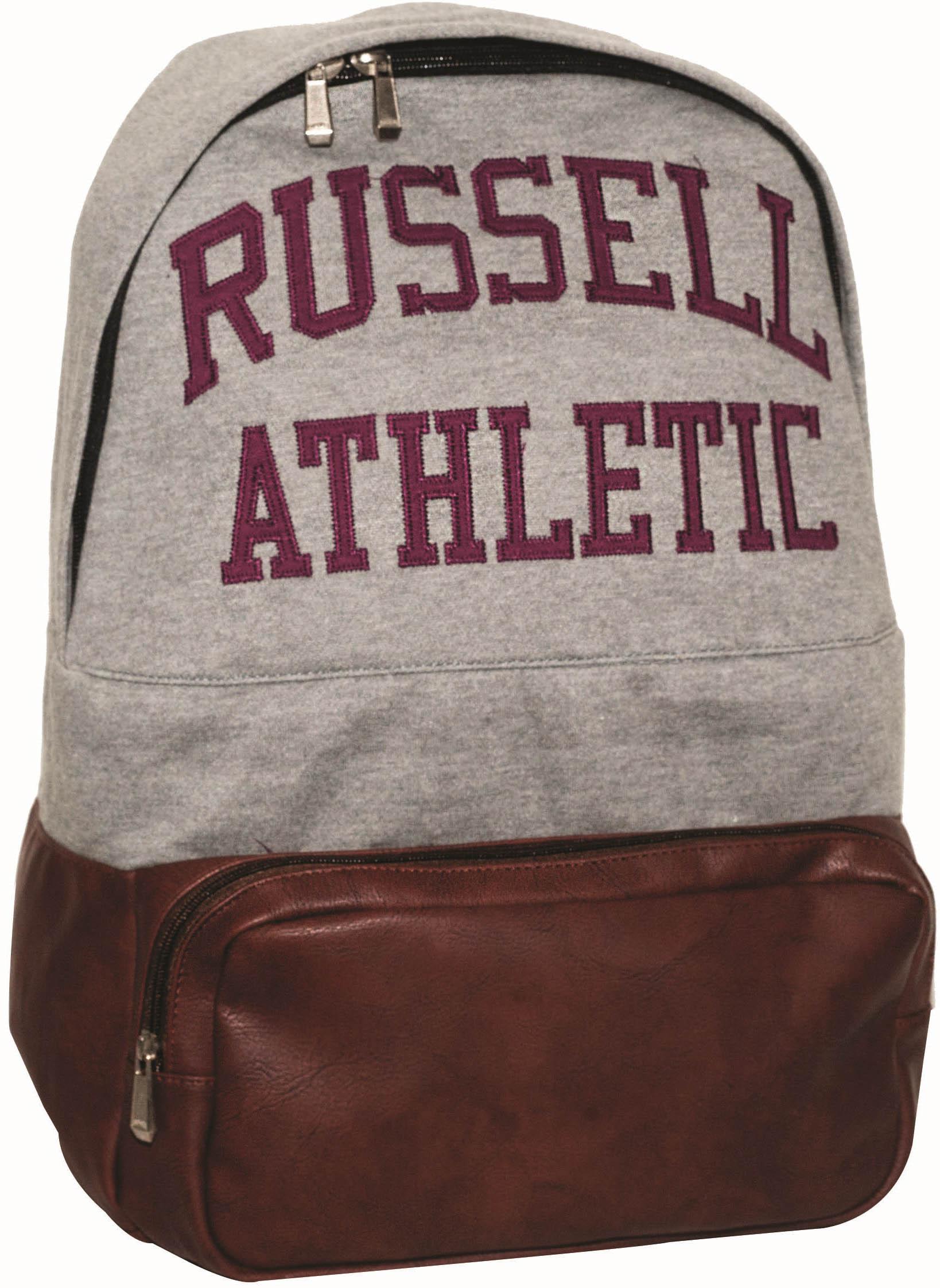 Τσαντα Πλατης Russell Athletic 391-63721 RAZ59 Γκρι/Μπορντό