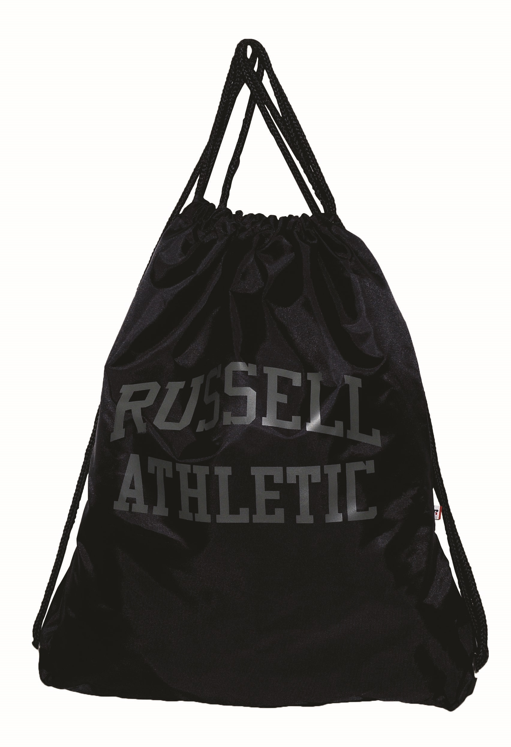 4b3ac7f60c5 Τσαντα Πλατης με Κορδόνι Poly Russell Athletic 391-53782-52 Μαύρο