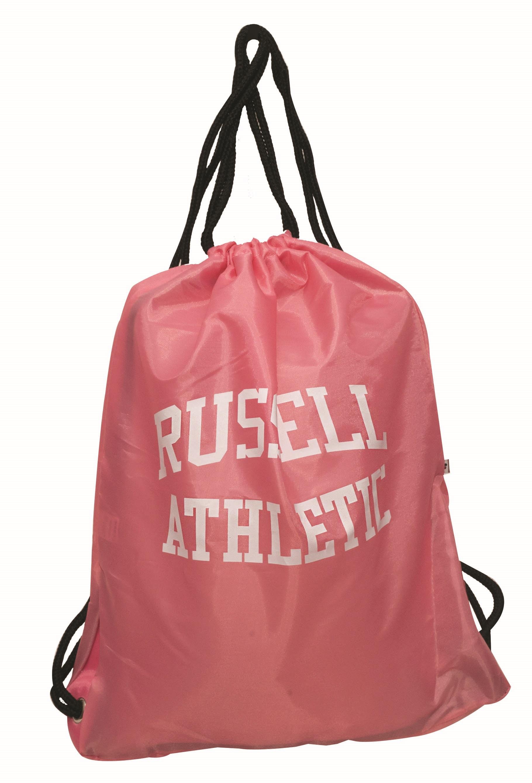 Τσαντα Πλατης με Κορδόνι Poly Russell Athletic 391-53782-69 Ροζ