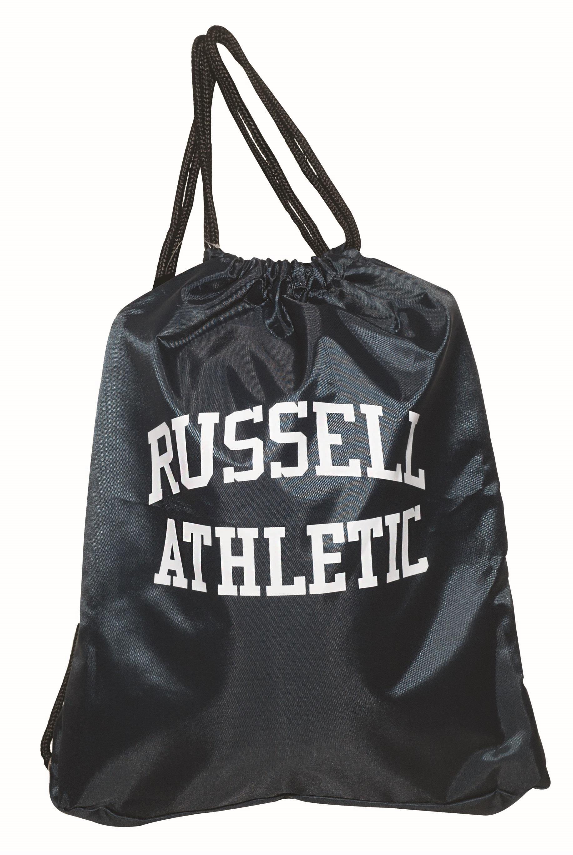 Τσαντα Πλατης με Κορδόνι Poly Russell Athletic 391-53782-70 Μπλε Σκούρο