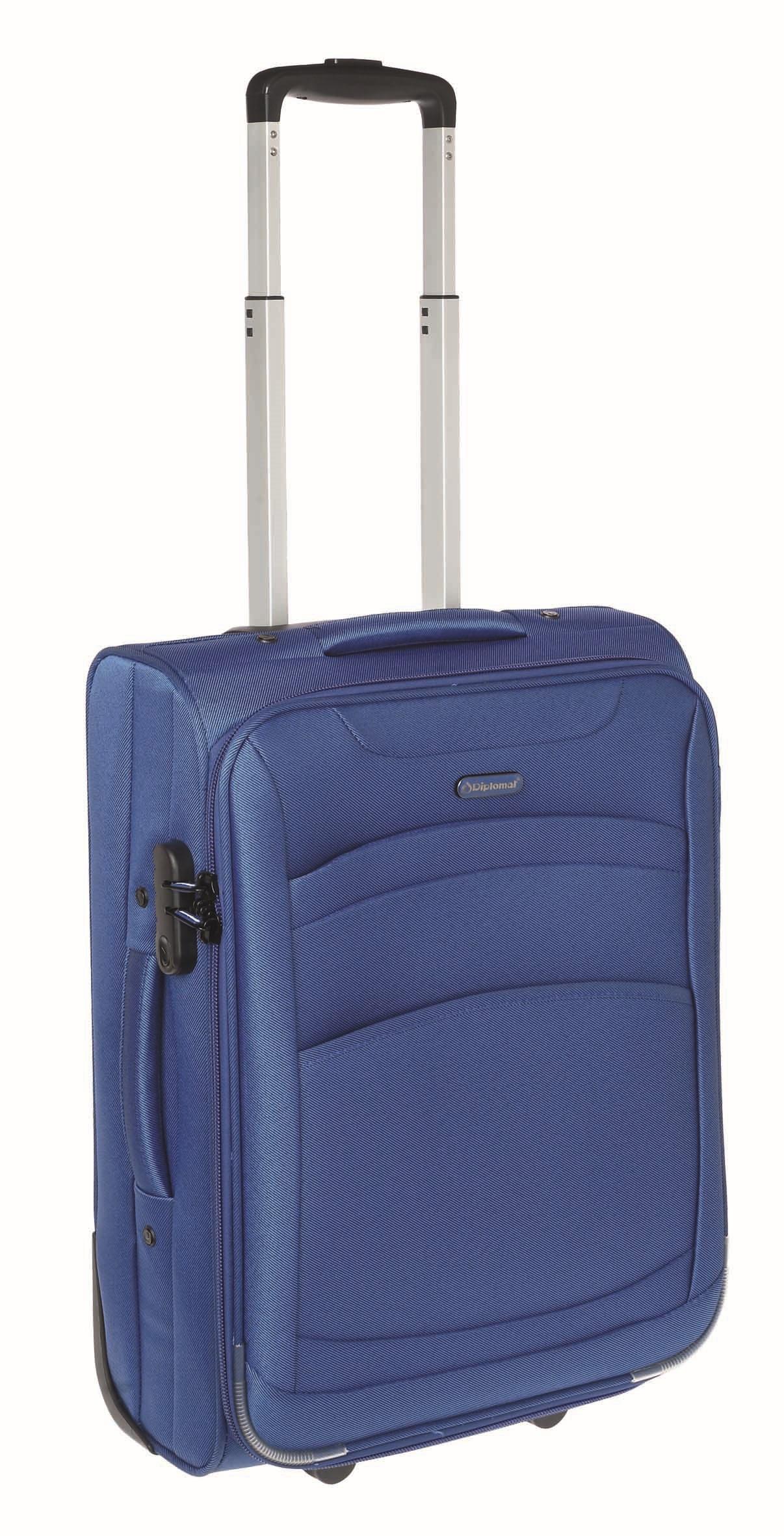 Βαλίτσα καμπίνας Diplomat ZC6018 55x40x20εκ Μπλε