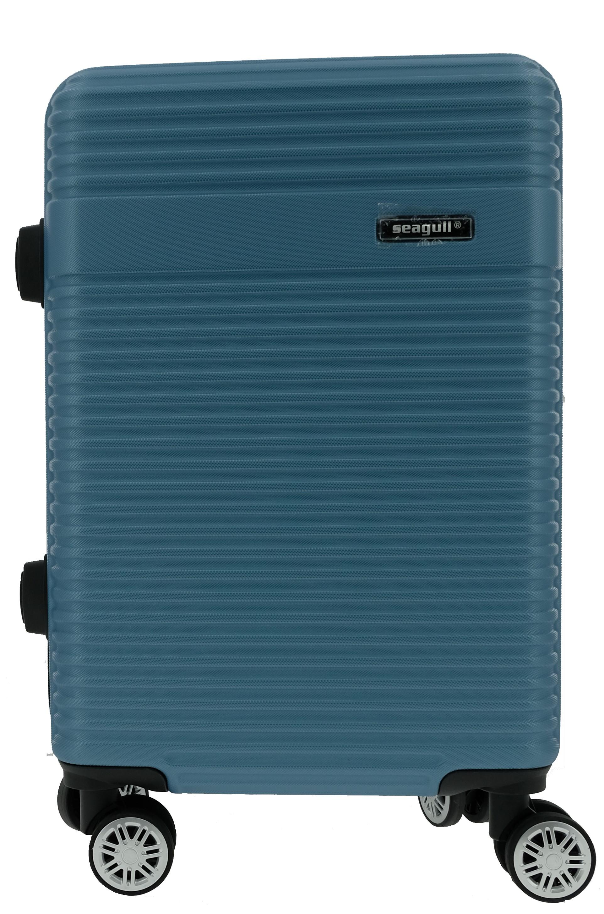 Βαλίτσα Καμπίνας με 4 Ρόδες 55cm Seagull SG170-51 Μπλε