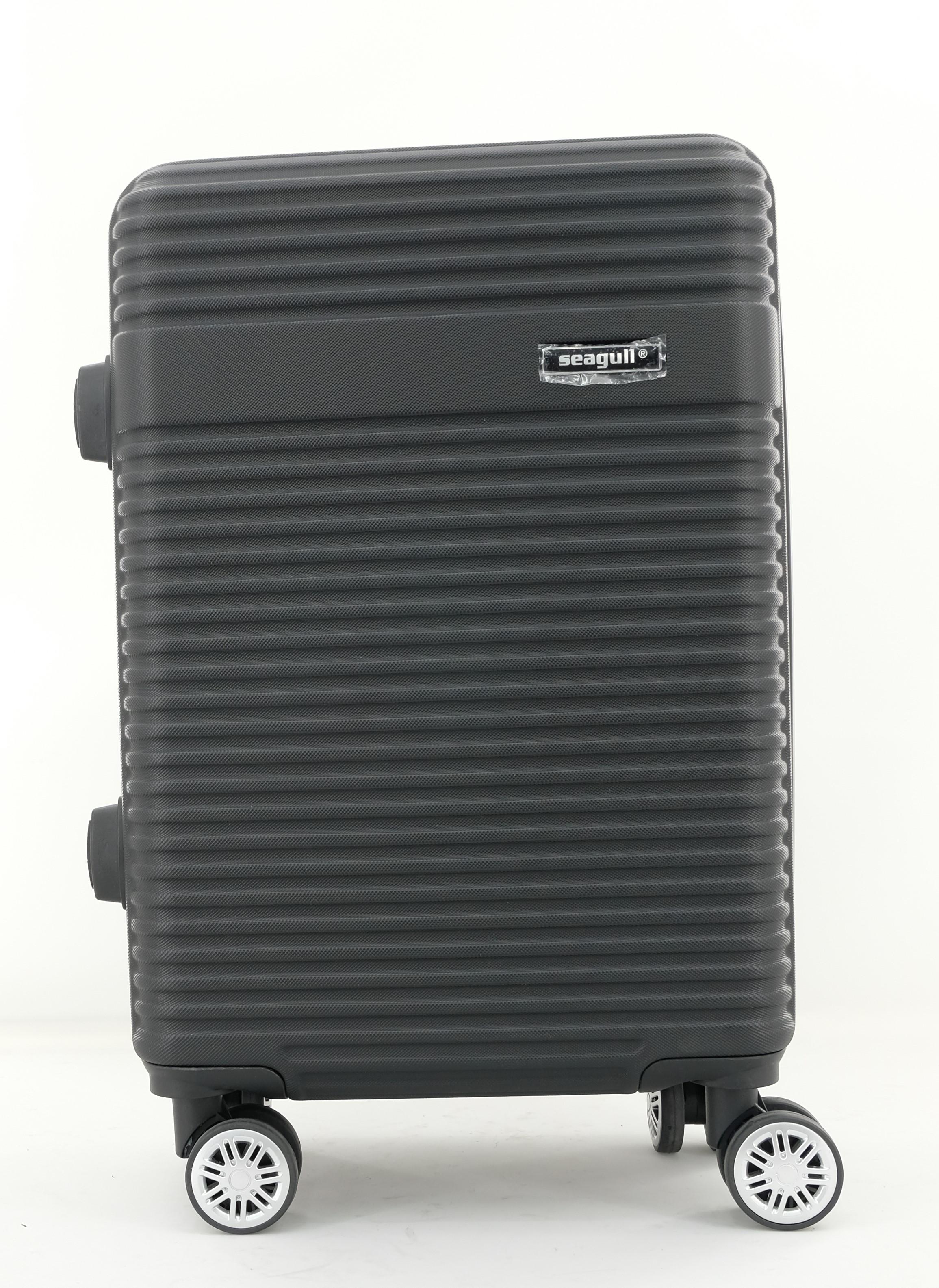 Βαλίτσα Καμπίνας με 4 Ροδες 55cm Seagull SG170-51 Μαύρο