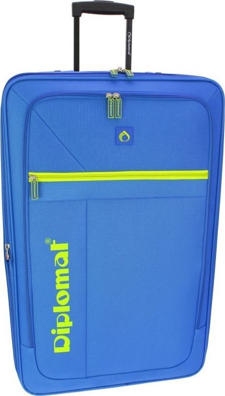 Βαλίτσα Καμπίνας 55cm Diplomat ZC2019-55 Μπλε