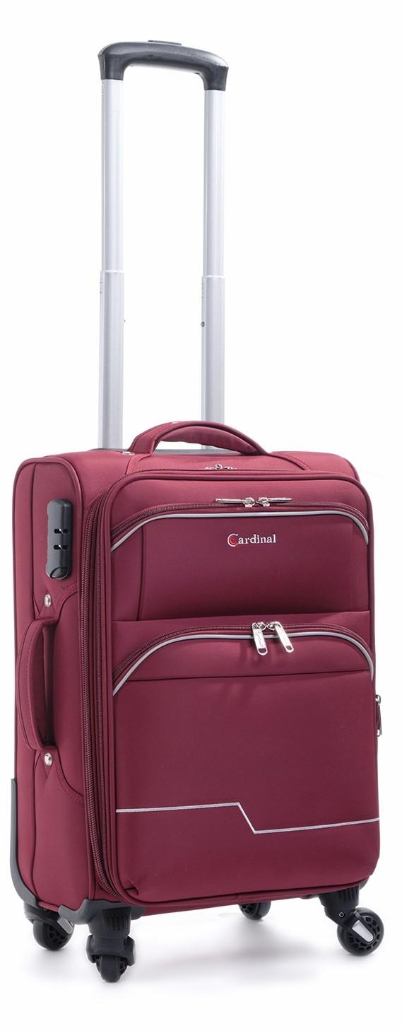 Βαλίτσα Καμπίνας με 4 Ρόδες & Επέκταση Cardinal 3300/50 Μπορντό