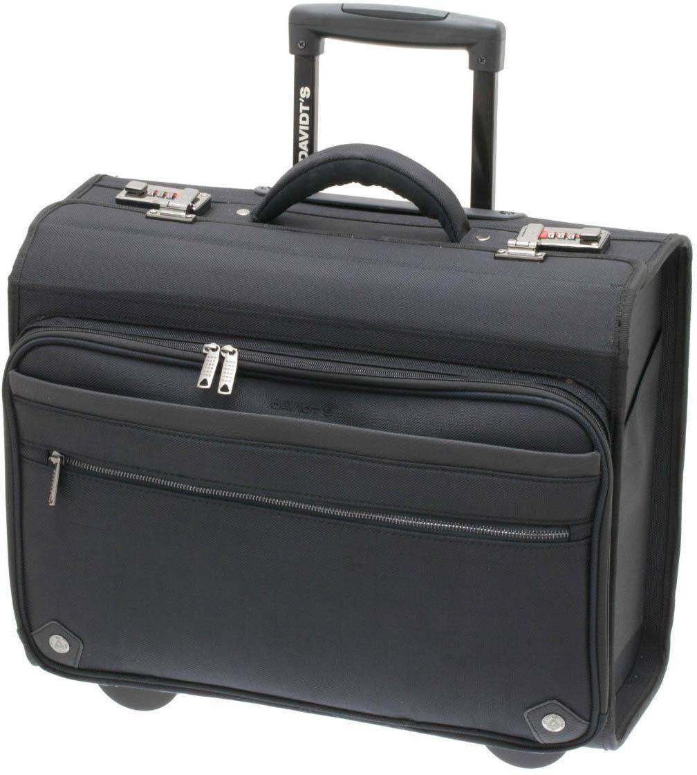 Επαγγελματική Τσάντα-Trolley Για Laptop 17″ DAVIDTS 259305-01 Μαύρο