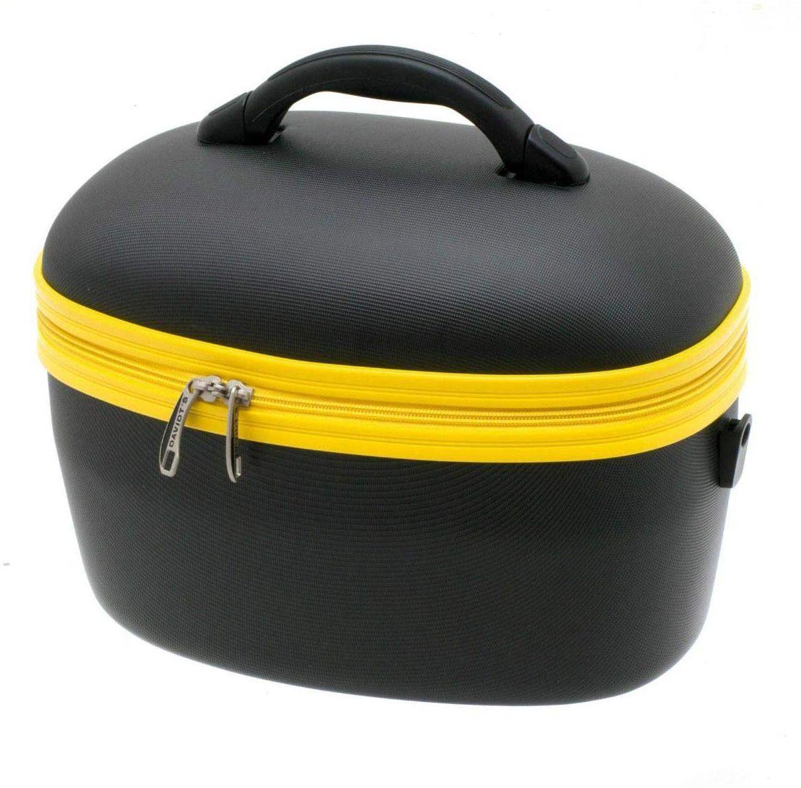 Beauty Case DAVIDTS 267149-15 Μαύρο/Κίτρινο