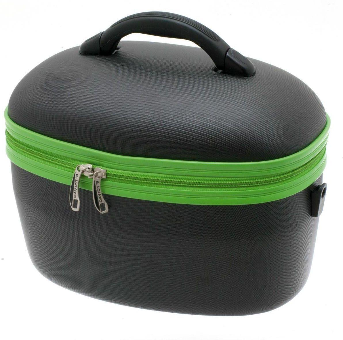 Beauty Case DAVIDTS 267149-16 Μαύρο/Πράσινο