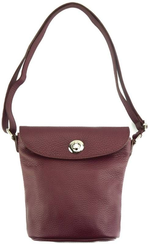 Δερμάτινο Τσαντάκι Ώμου Chloe Firenze Leather 9609 Μπορντό