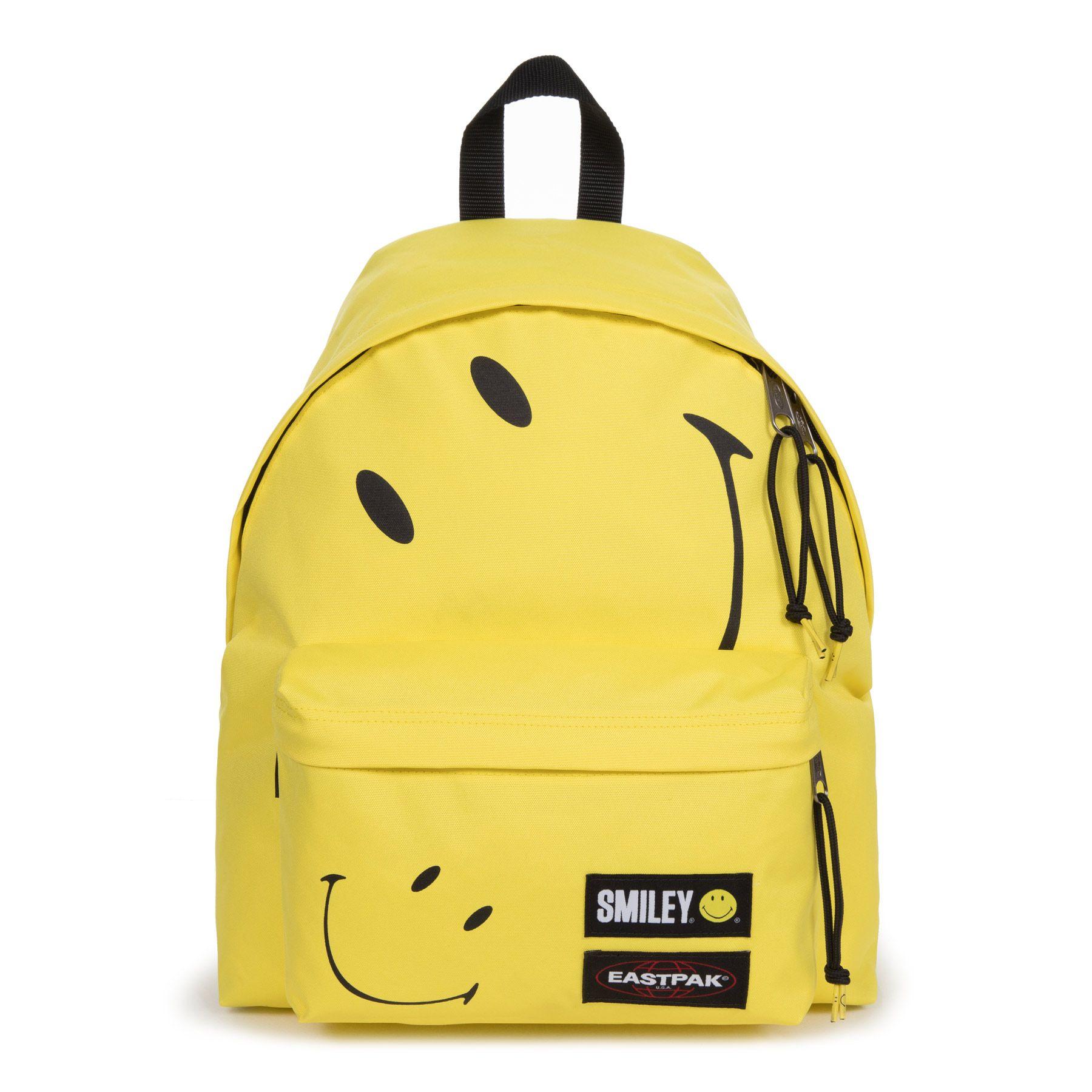 Τσάντα Πλάτης Padded Pak'R Eastpak EK620A92 Smiley Big Κίτρινο