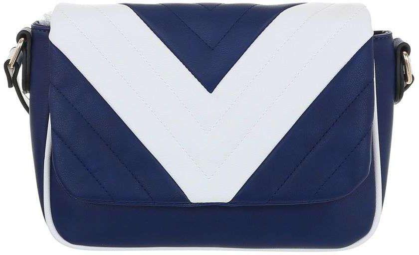 Τσάντα Ώμου Cardinali 9135-88 Μπλε