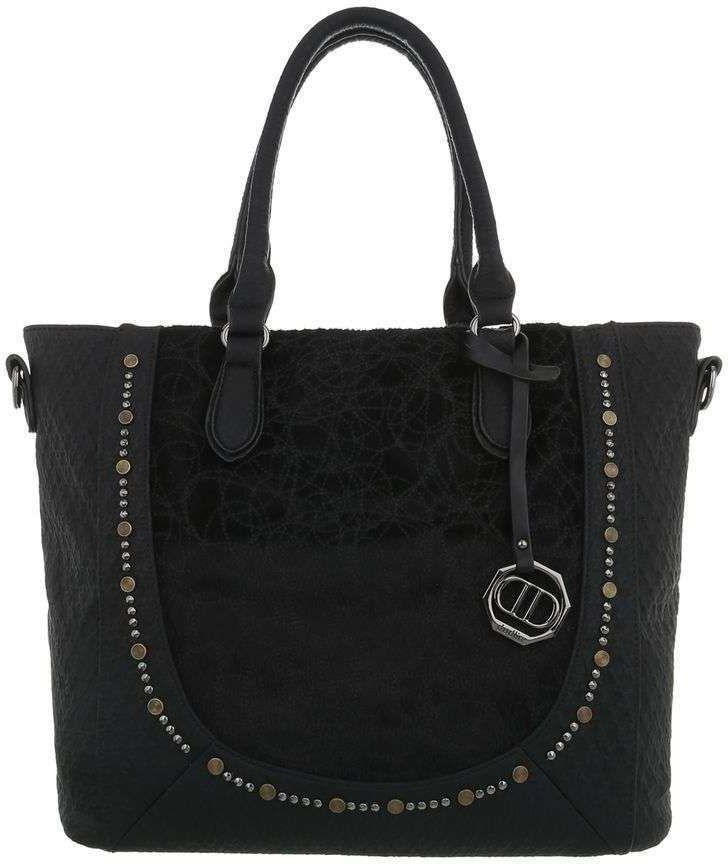 Τσάντα Ώμου Cardinali 4035-1 Μαύρο