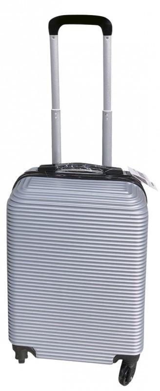 Βαλίτσα Καμπίνας με 4 Ρόδες 55cm Colorlife CB115 Ασημί