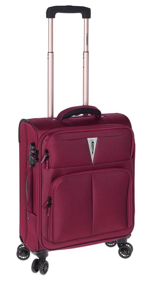 Βαλίτσα Καμπίνας με 4 Ρόδες Diplomat ZC 6101-S Μπορντό