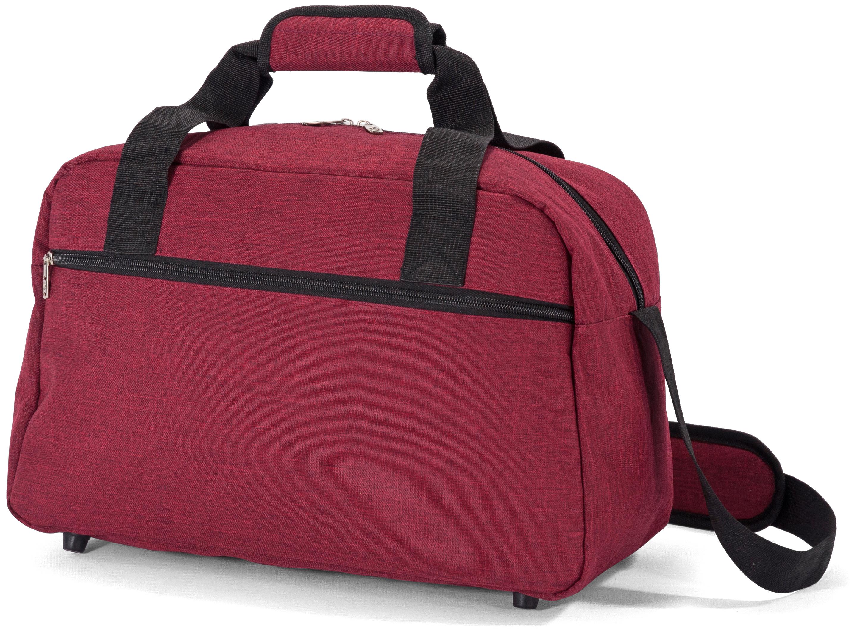 Σακ Βουαγιάζ Underseat Benzi BZ5528 (40x25x20cm) Κόκκινο