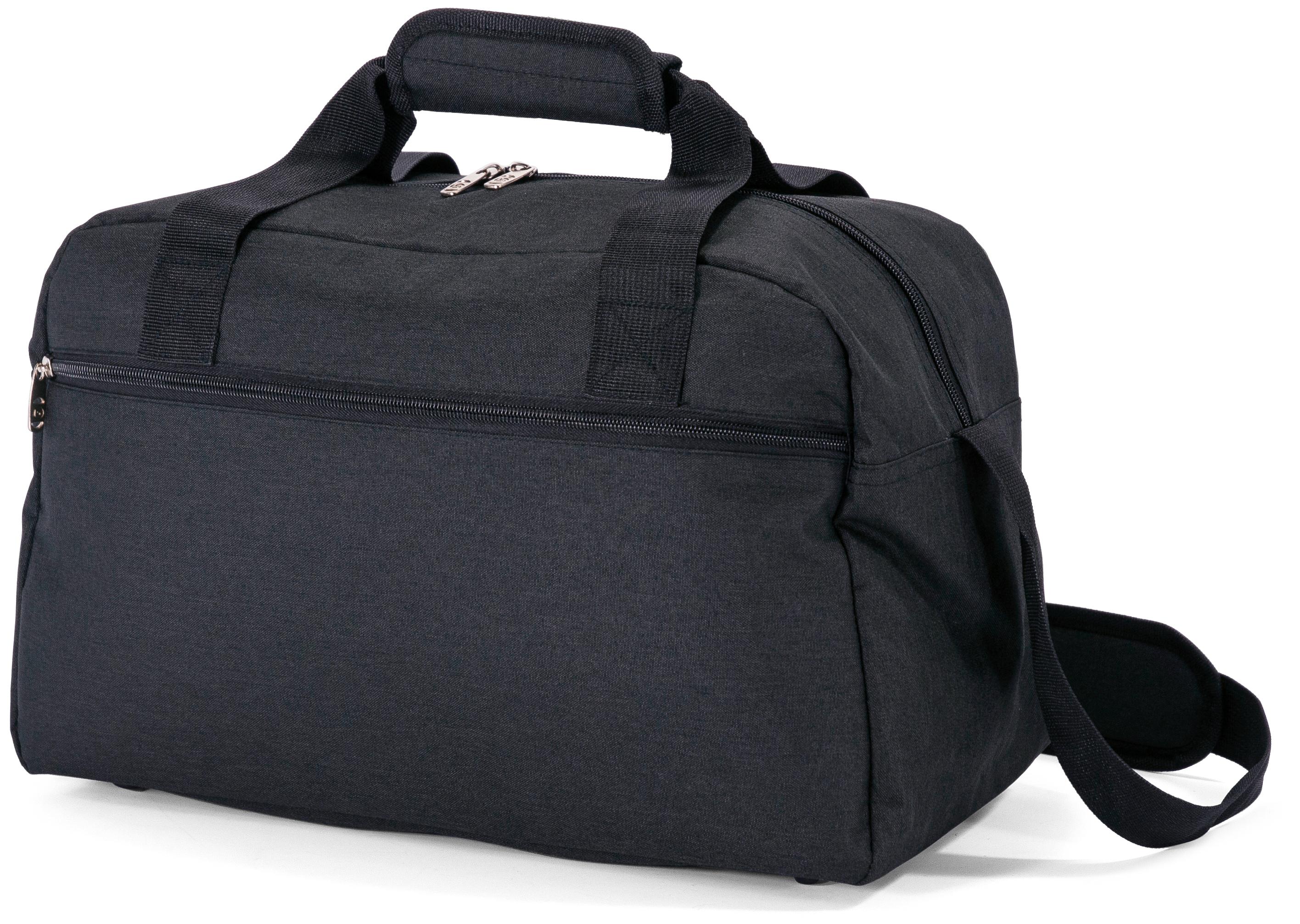 Σακ Βουαγιάζ Underseat Benzi BZ5528 (40x25x20cm) Μαύρο