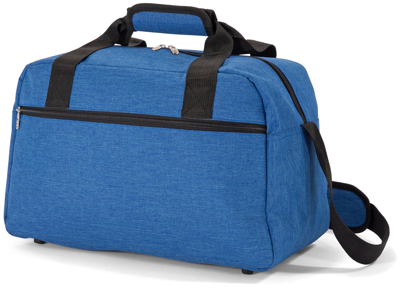 Σακ Βουαγιάζ Underseat Benzi BZ5528 (40x25x20cm) Μπλε