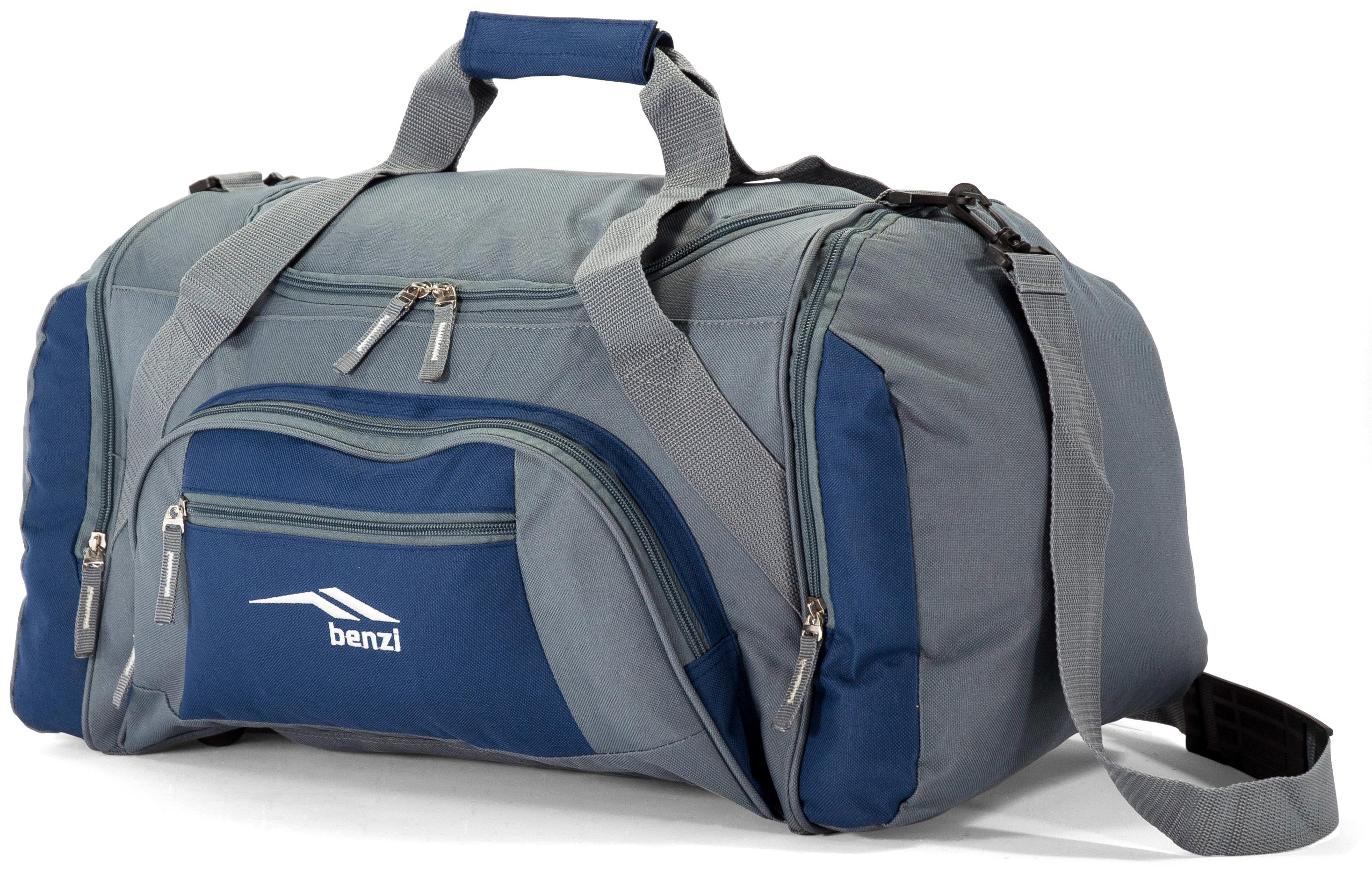 Σακ Βουαγιάζ Benzi BZ5577 Γκρι-Μπλε