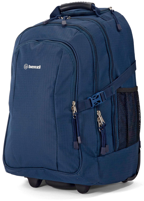 Σακίδιο Πλάτης με Ρόδες για Laptop 17 ίντσες Benzi BZ5593 Μπλε