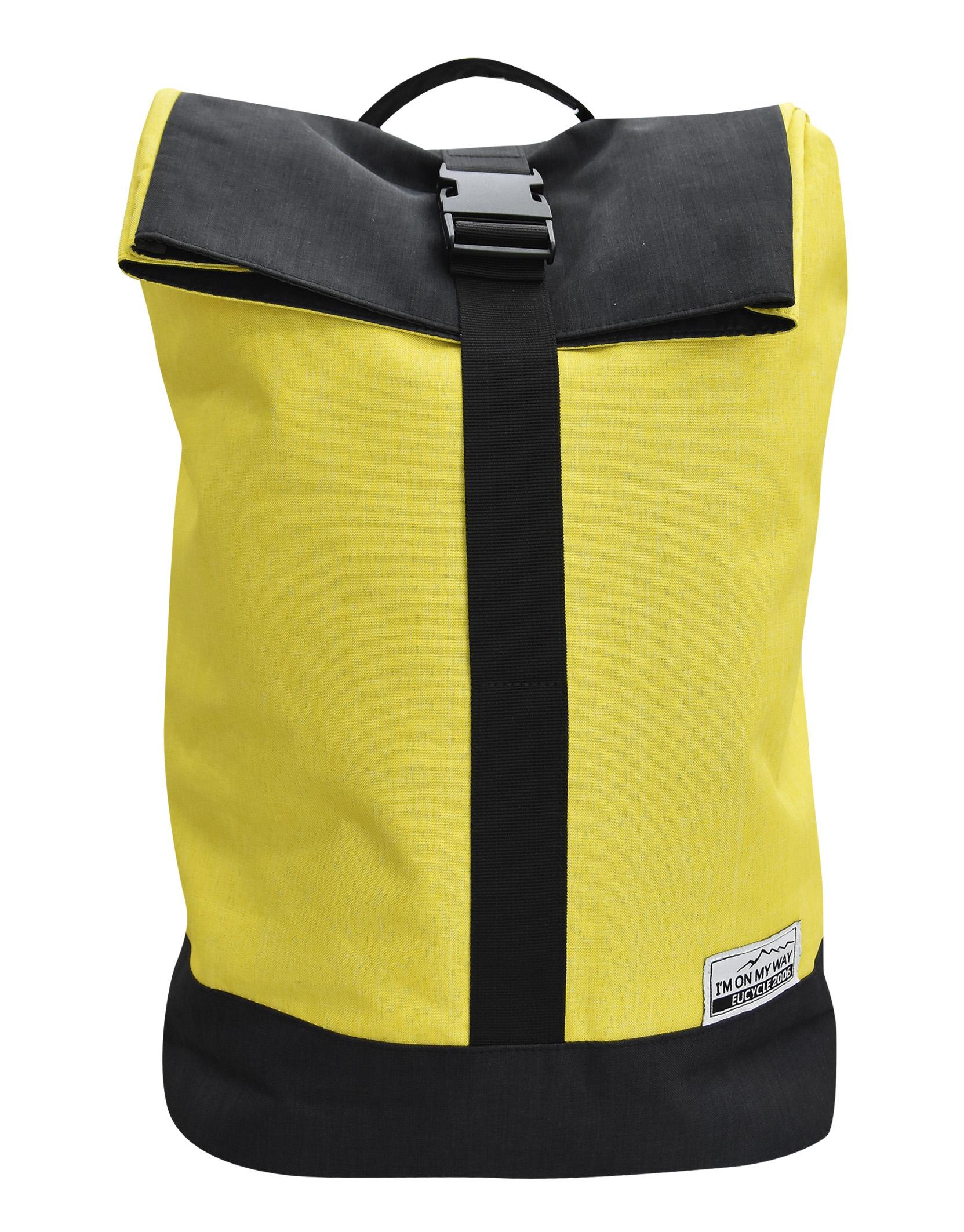 Επεκτεινόμενο Σακίδιο Πλάτης για Laptop 15.6 Ιντσών IM ON MY WAY BG049 Κίτρινο