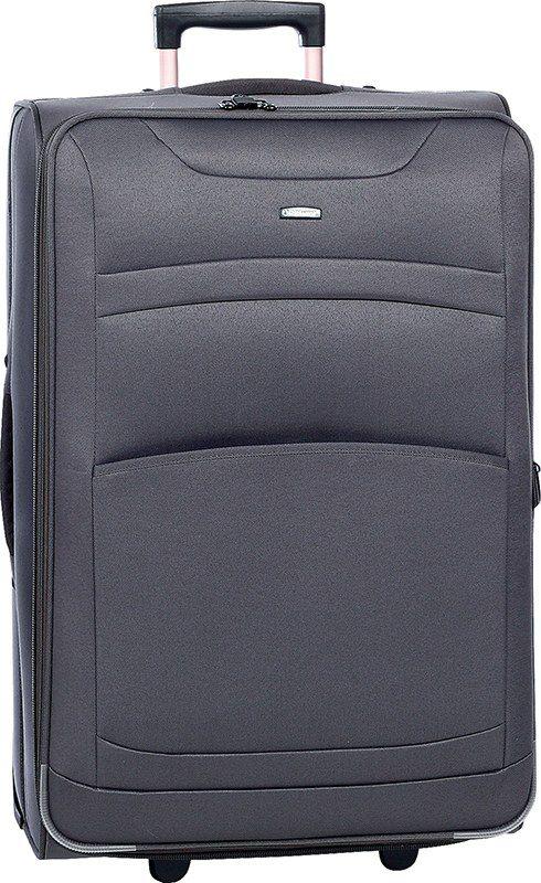 Βαλίτσα τρόλεϊ 73εκ. με Επέκταση Diplomat ZC 6017-73 Γκρι ειδη ταξιδιου   βαλίτσες   βαλίτσες   βαλίτσες μεγάλες