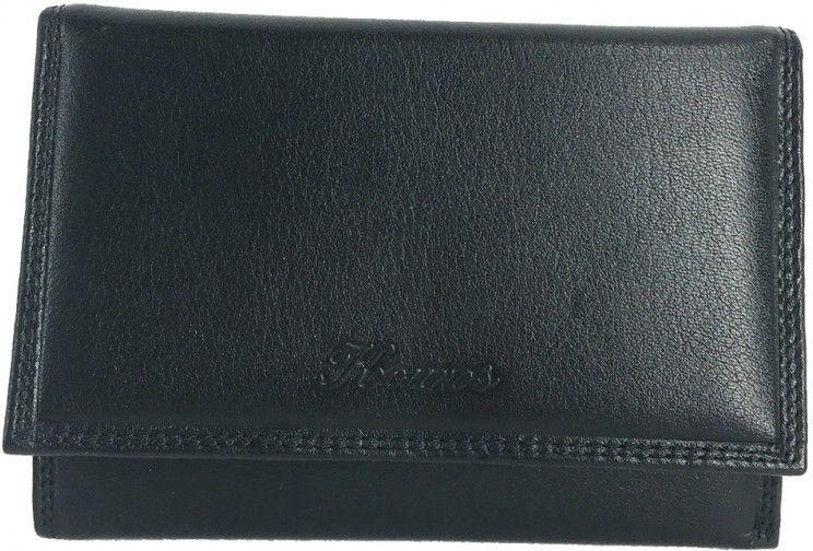 Δερμάτινο Γυναικείο Πορτοφόλι 14.5x10 εκ. Kouros 75009 Μαυρο γυναίκα   πορτοφόλια