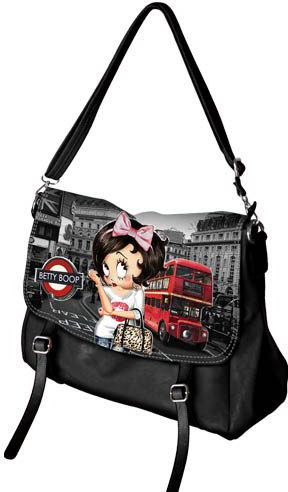Τσαντα Venture London Betty Boop 811-1519 trash category