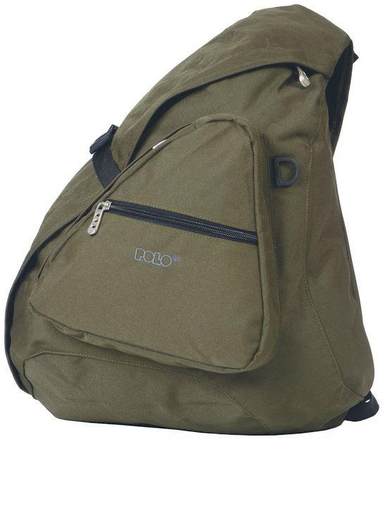 Τσάντα Πλάτης Body Bag Polo 9-07-960-07 Χακι