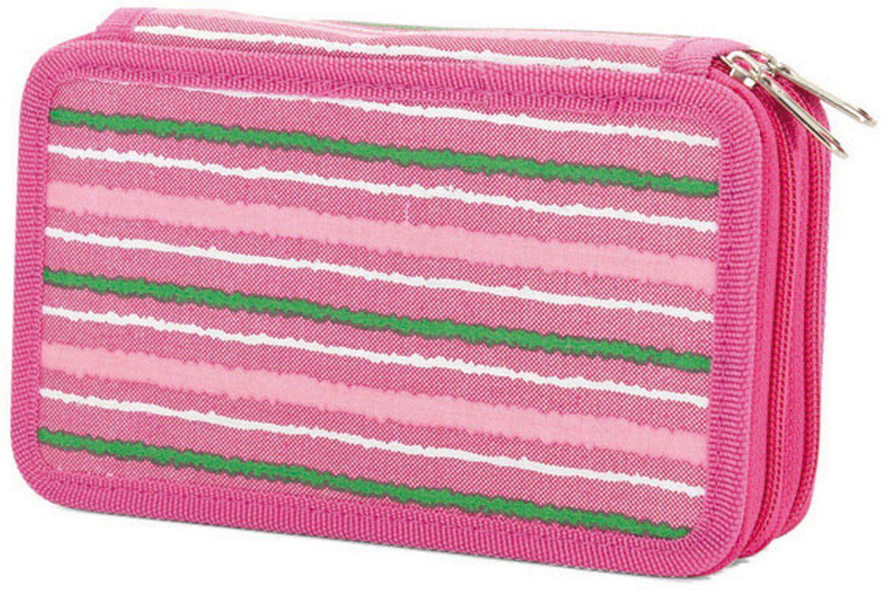 Κασετίνα Διπλή Γεματη Benzi BZ4379 Ροζ σχολικες τσαντες   τσάντες δημοτικού   κασετίνες