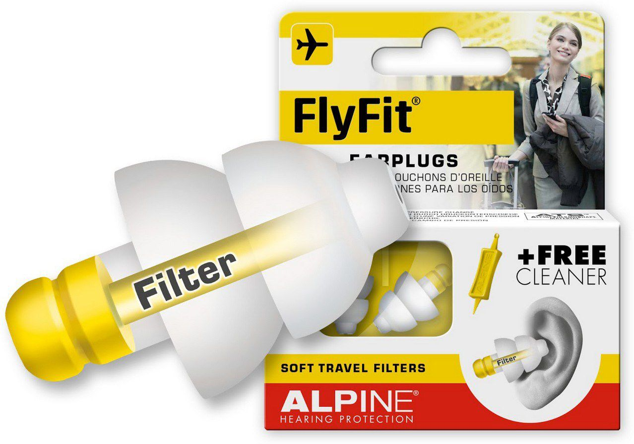 Ωτοασπίδες Ταξιδίου Alpine Fly Fit 111.21.250 ειδη ταξιδιου   βαλίτσες   αξεσουαρ ταξιδιου   διάφορα