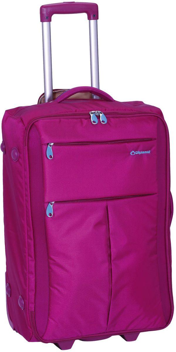 Βαλίτσα καμπίνας τρόλεϊ 48X34X19 Diplomat ZC 8004-48 Φουξια ειδη ταξιδιου   βαλίτσες   βαλίτσες   βαλίτσες καμπίνας