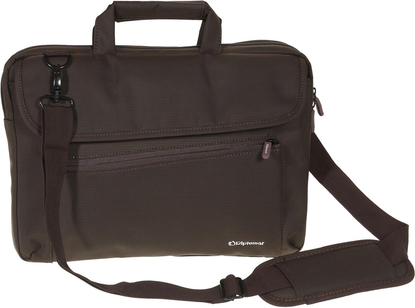 a8f4263d3c Τσάντα Ώμου Laptop 15 Diplomat LC855