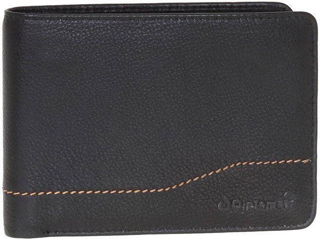 Ανδρικό Δερμάτινο Πορτοφόλι Οριζόντιο Diplomat MN417 Μαύρο πορτοφολια   αξεσουάρ   πορτοφολια   ανδρικά