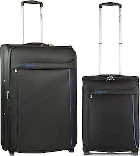 Σετ Βαλίτσες 2 τεμαχίων τρόλεϊ Diplomat ZC 6200 51-71 Μαυρο ειδη ταξιδιου   βαλίτσες   βαλίτσες   σετ βαλίτσες ταξιδίου