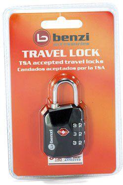 Λουκετο Tsa Με Συνδυασμο Benzi TSA004 Μαυρο ειδη ταξιδιου   βαλίτσες   αξεσουαρ ταξιδιου   ασφάλεια αποσκευών