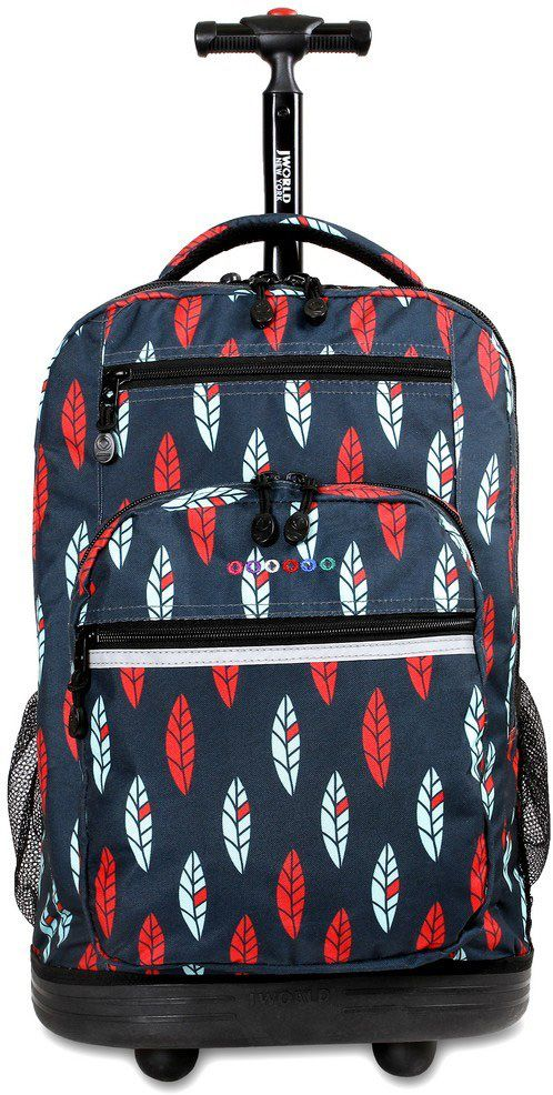 Τσαντα Τρολει Sundance Με Θηκη Laptop JWORLD 395-00002 68-Indi παιδί   τσάντες δημοτικού   για αγορια
