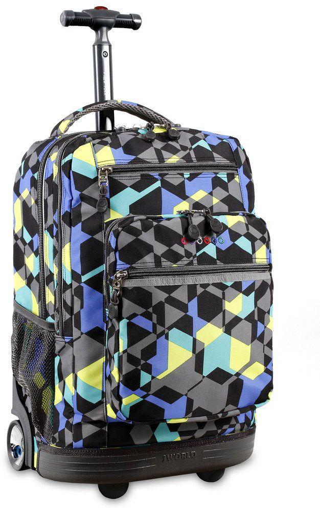 Τσαντα Τρολει Sundance Με Θηκη Laptop JWORLD 395-00002 90-Cubes παιδί   τσάντες δημοτικού   για αγορια