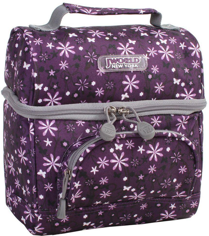 Τσαντακι Φαγητου Corey JWORLD 395-00010 35-Garden-Purple σχολικες τσαντες   τσάντες νηπιαγωγείου   για αγοράκια