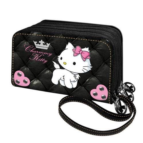 Πορτοφολι τριπλο padding charmmy kitty 6811-0889 παιδί   πορτοφολια   teens