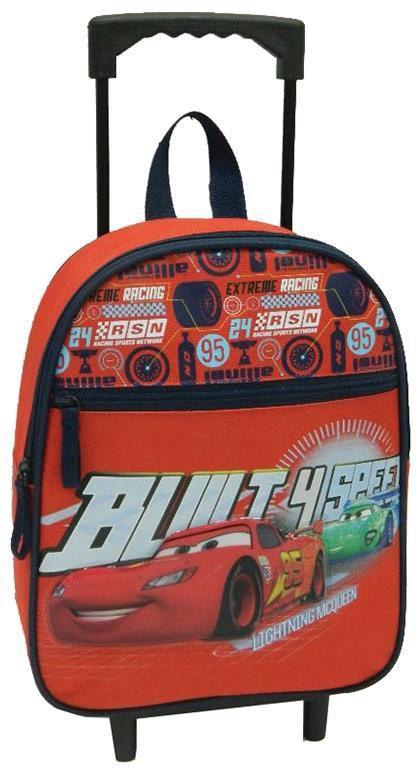 Τσάντα νηπίου τρόλευ cars με 2 θήκες 31x25x10 εκ. Bagtrotter 29763 παιδί   τσάντες νηπιαγωγείου   για αγοράκια