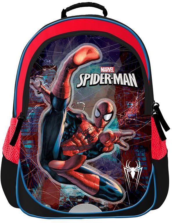 a548a5b09fd Τσάντα πλάτης δημοτικού spiderman με 2 θήκες 37x28x15.5 εκ. Bagtrotter 30442